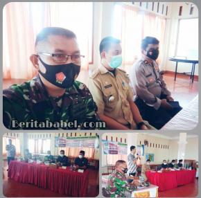 Danramil 01/ Tanjungpandan Menghadiri Reses Anggota DPRD Kabupaten Belitung di Kecamatan Tanjungpandan