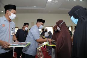 Usai Salurkan Santunan, Gubernur Erzaldi Langsung Gelar Rapat Darurat Penanganan Covid-19 di Muntok