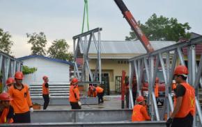 Atasi Jembatan Putus, BPBD Babel Telah Siapkan Satu Unit Tambahan Jembatan Bailey