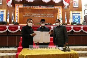 Bahas 4 Raperda, Gubernur Babel Harap Pemprov-DPRD Berkolaborasi
