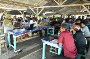 Akhiri Kegiatan di Bangka Barat, Gubernur Erzaldi Lakukan Rapat Persiapan Geopark Bangka