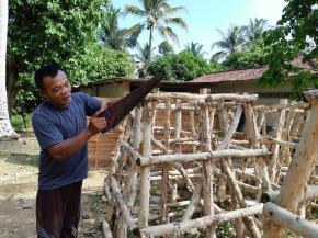 PT Timah Berdayakan Nelayan Rebo Buat Rumah Ikan