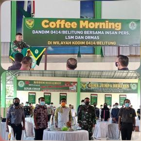 Dandim 0414/Belitung Berpesan Kepada Insan Pers Untuk Memberikan Berita Yang Memotivasi Dan Membangun