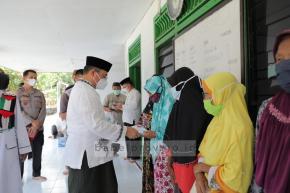 Ungkapan Syukur Terima Santunan, Mustahik Dusun Ketul Doakan Gubernur