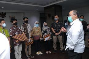 Gubernur Erzaldi Fasilitasi Wadah Usaha Disabilitas Pasca Kegiatan Aksibilitas