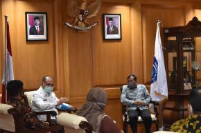 KPU Babel Temui Gubernur Erzaldi Terkait Koordinasi Pelaksanaan Pilkada Serentak