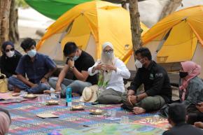 Ibu Melati : Wisata Pantai Tanjung Labun Buah Karya Pemuda Desa Serdang