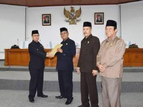 Wakil Bupati Bangka Sampaikan RAPBD 2019