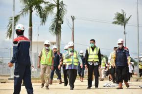 Pembangunan Rumah Sakit Infeksi dan Karantina Covid-19 Dipastikan Segera Rampung