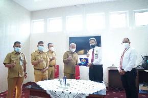 Wali Kota Pangkalpinang Terima Kunjungan Kakanwil DJKN Sumbagsel