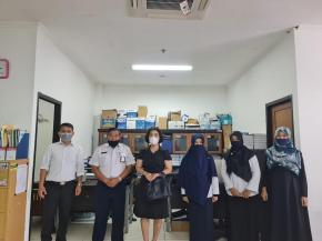 Ketua DPRD Bateng Konsultasi ke Sekda Terkait Usulan Pemberhentian Bupati dan Pengangkatan Wakil Bupati
