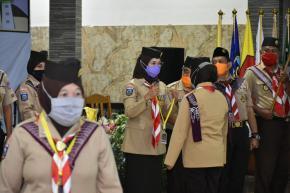 Kakwarda Melati Buka Kegiatan Kursus Pelatih Pembina Pramuka di Belitung