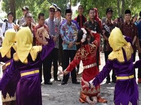 Wabup Bangka Buka Belinyu Karang Lintang Festival
