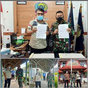 Kalapas Kelas IIB Tanjungpandan Ajak Dandim 0414/ Belitung Monitoring Blok Hunian