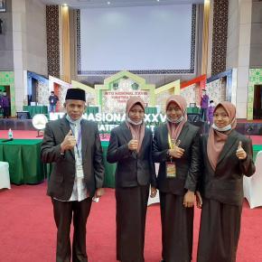 Regu Fahmil Quran Babel Berhasil Masuk Semifinal MTQ Nasional 2020