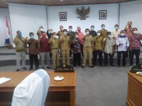 Desa Bukit Layang dan Desa Rebo Sungailiat Kembali Ajukan Pemekaran Wilayah ke DPRD Kabupaten Bangka