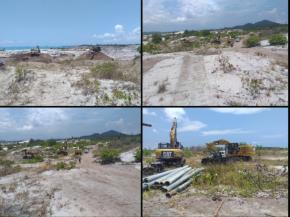 8 Excavator Beraksi di Tambang Ilegal Kawasan HL, Ada Beking Oknum Aparat?