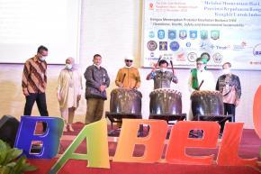 Tandai Pembukaan Babel Fair 2020, Wagub Abdul Fatah Pukul Bedug