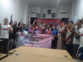Relawan Begawi Jokowi-Ma'aruf Gelar Deklarasi di Pangkalpinang