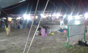 Pasar Malam  Sepi Pengunjung Akibat Corona
