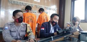 Unit Reskrim Polsek Tanjungpandan Berhasil Meringkus Dua Pelaku pencurian Senapan Angin
