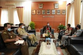 Ketua DPRD Babel Herman Suhadi Silahturahmi Ke Kejati