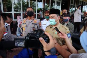 Pasien Covid-19 Melonjak, Gubernur Erzaldi Tindak Tegas Pelanggar Protokol Kesehatan