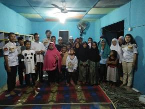 Peringati HUT ke 10 Satria Muda Babel, Buka Bersama Dengan Anak Panti Asuhan