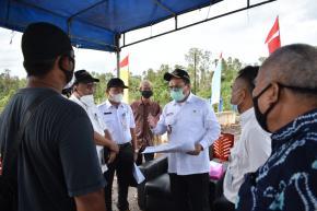 Tindak Lanjuti Keluhan Petani Sawit, Gubernur Minta Dinas Pertanian Langsung Turun ke Lapangan