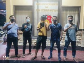 Curi HP di ATM, Hendra Diringkus Tim Opsnal Polres Bateng