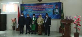 Pelantikan dan Pengambilan Sumpah Jabatan Wakil Ketua Oleh Ketua Pengadilan Agama Sungailiat