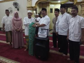 Safari Ramdhan 1439 H Pemkab Bangka Berakhir di Masjid Mujahidin Desa Jurung
