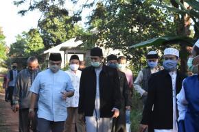 Gubernur Erzaldi Tinjau Lokasi Pembangunan Pondok Pesantren Al-Maqdisi