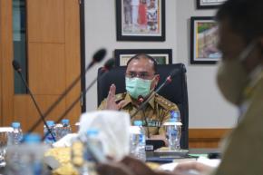 Gubernur Erzaldi Pimpin Rapat Teknis Kebijakan Pemulihan Ekonomi Nasional di Babel