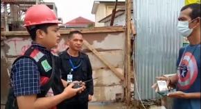 Security dan Petugas K3 PT BACP Larang Wartawan Meliput Kecuali Ada Surat Izin dari Pengadilan dan PPK