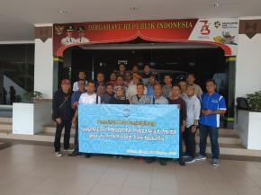 Wartawan dan Humas Pemkot Pangkalpinang Kunjungi Batam