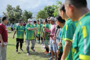 Pertandingan Sepak Bola Persahabatan, Gubernur Perkuat Kesebelasan Pemprov Babel