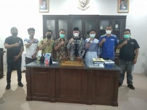 Wabup Bangka Tengah Mediasi Perseteruan Wartawan dengan Oknum ASN