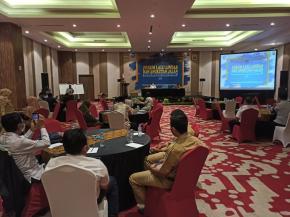 Dinas Perhubungan Pangkalpinang Gelar Rapat Koordinasi FLLAJ