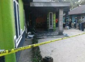 Poles Bangka Barat terus lakukan Penyelidikn Kasus Kebakaran rumah warga di Dusun Pangkal Ahoy Desa Belo laut