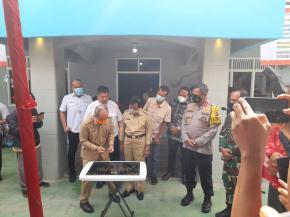 Walikota Pangkalpinang Hadiri Acara HPN DI Kantor PWI Provinsi Babel