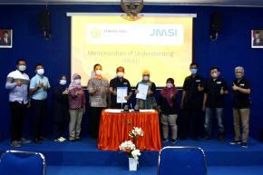 Implementasikan Kampus Merdeka, Stikosa AWS Gandeng JMSI Jatim
