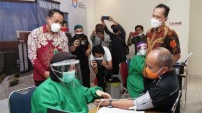Kota Pangkalpinang Masuk 10 Besar Vaksinasi Covid -19 Se Indonesia
