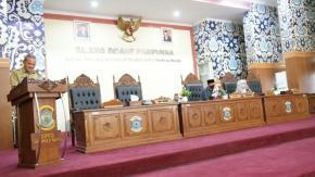 Wakil Walikota Hadiri Rapat Paripurna ke-19 Tahun 2021