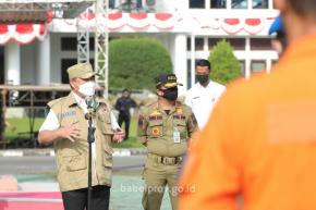 Gubernur : Lakukan Pengamanan PPKM dengan Baik, Tenang, dan Humanis