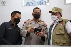 Ketua DPRD Bersama Gubernur Dan Unsur Forkopimda Tinjau Kesiapan Tempat Karantina Isoter Covid-19