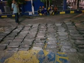 Ditpolair Polda Babel Amankan 171 Batang Timah Balok illegal