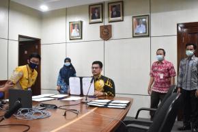 Kementerian Keuangan RI Tanda Tangani MoU Pada Lembaga dan Pemerintah Daerah