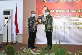 Pangdam II/Sriwijaya Puji Sinergi Pimpinan di Bangka Belitung