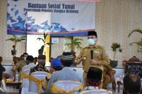 Gubernur Erzaldi Minta Uang Santunan Digunakan Untuk Yang Bermanfaat